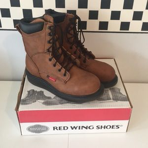Red wing boot 678 size 7D NEW NWT NIB